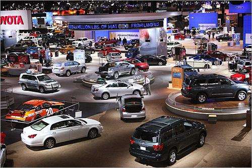 Những lưu ý khi đến tham dự triển lãm ô tô