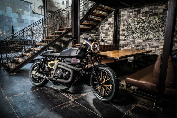 Ngắm Yamaha XV950 độ theo phong cách cafe racer