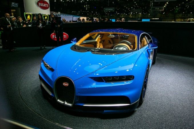 Hé lộ 5 bí mật về Bugatti Chiron