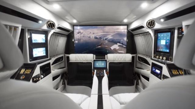 Ngắm nội thất sang trọng Sky Captain của Cadillac Escalade