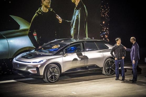 Faraday Future FF 91 – mẫu ô tô điện hút khách tại CES 2017