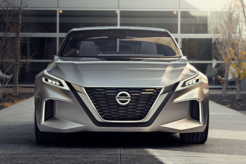 Nissan trình làng mẫu concept Vmotion tự hành tại Detroit