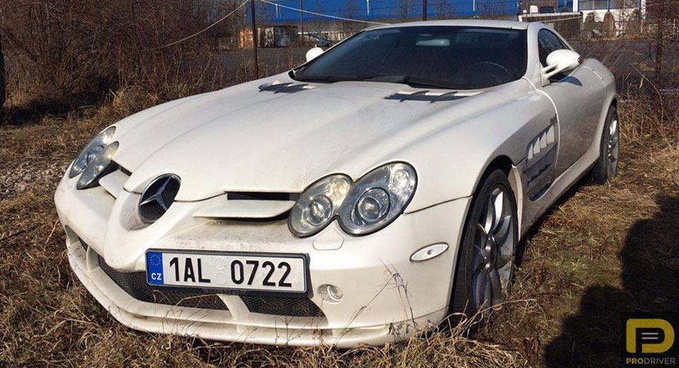 "Hàng hiếm Mercedes-Benz SLR McLaren bị ""giam giữ"" suốt 6 năm"