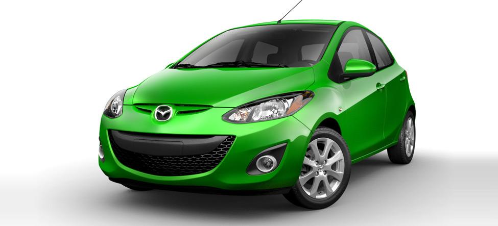 Khám phá Mazda 2 phiên bản nội