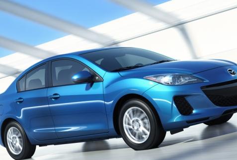 Mazda 3 chiếc sedan nhập khẩu cở nhở
