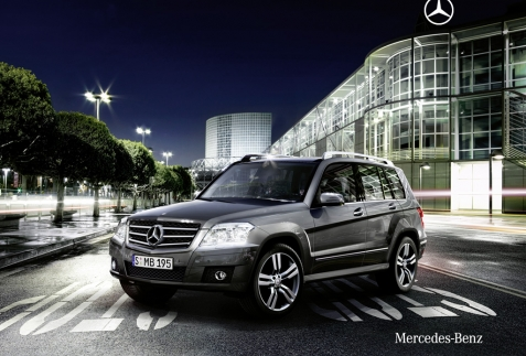 Mercedes GLK 300 chiếc xe mang phong cách thể thao và sang trọng