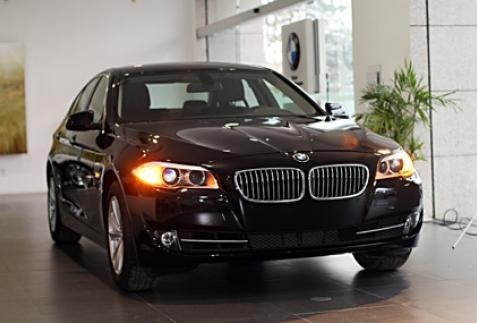 BMW 520i 2012 gia nhập thị trường Việt Nam