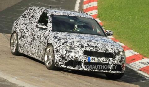 Audi RS4 thế hệ mới cho mùa thu