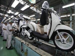 Honda đứng đầu doanh số bán xe máy ở Indonesia