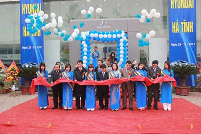 Hyundai Thành Công mở rộng đại lý tại Tp.HCM và Hà Tĩnh