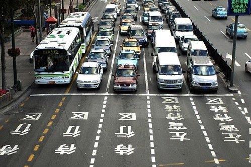 Số ôtô đăng ký ở Trung Quốc vượt xe máy trong 2011