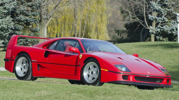 Chiêm ngưỡng chiếc Ferrari F40 độc nhất của cựu chủ tịch Ford
