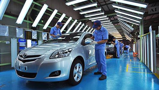 Thị trường ôtô ảm đạm đầu năm