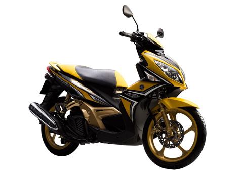 Ảnh đầu tiên về Yamaha Nouvo mới tại Việt Nam