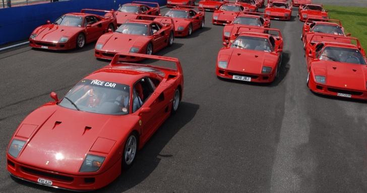 Ferrari mừng sinh nhật thứ 25 của chiếc F40