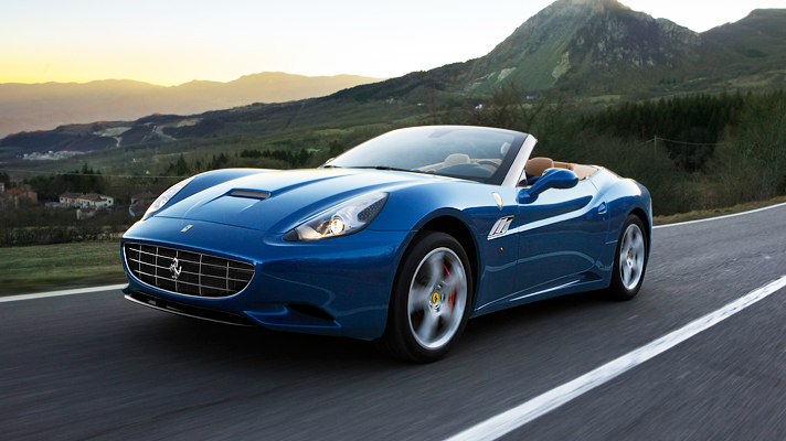 Ferrari California cực nhanh và cực nhẹ