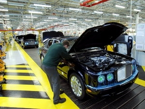 Bentley muốn tăng gấp đôi doanh số trong 5 năm
