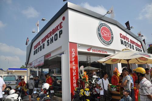 Khai trương Caffe SuperBike dành cho người yêu mô-tô