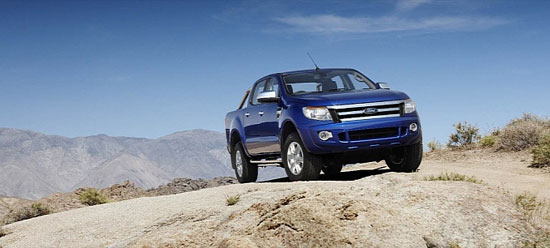 Ford Ranger 2012 sắp về Việt Nam