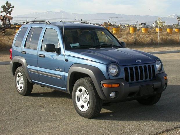 Khoảng 210.000 chiếc Chrysler Jeep Liberty bị báo lỗi