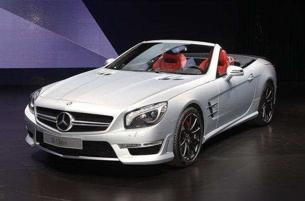 Mercedes trình làng SL63 AMG