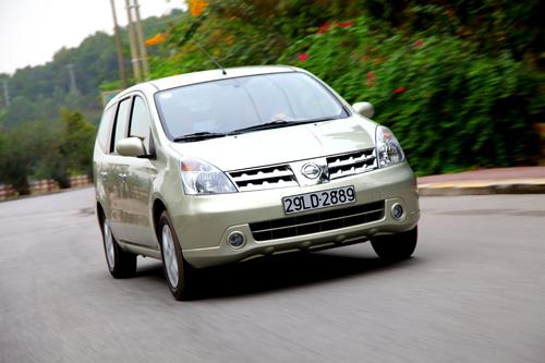 Nissan Việt Nam hỗ trợ 5% phí trước bạ khi mua xe Grand Livina