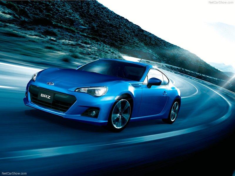 Subaru BRZ ra mắt tại Geneva