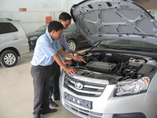 Sức mua ô tô giảm mạnh