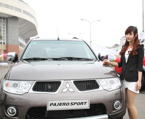 Trải nghiệm cùng Mitsubishi Pajero Sport tại Hà Nội