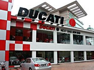 Malaysia: Doanh số bán xe môtô Ducati tăng mạnh
