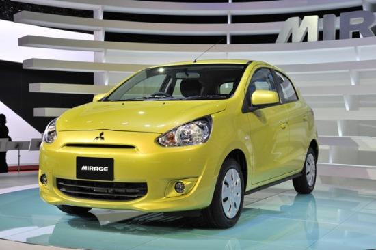 Mitsubishi chào bán Mirage tại Thái Lan