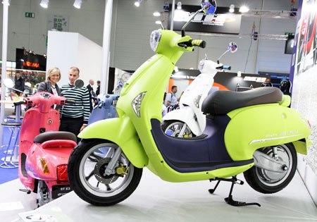 Thị trường xe máy: Đến thời xe ga