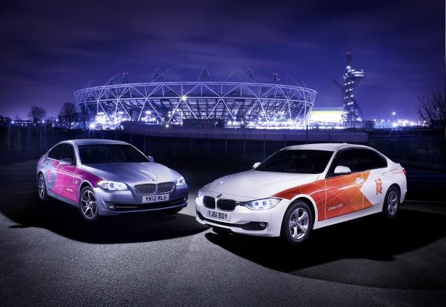 BMW hỗ trợ phương tiện cho Olympic London 2012