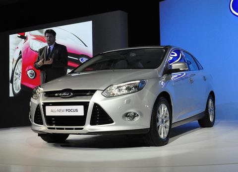 Ford Forcus 2012 ra mắt tại Thái Lan