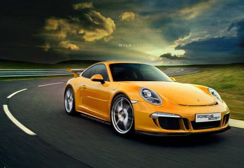 Porsche sắp ra mắt siêu phẩm 991 GT3