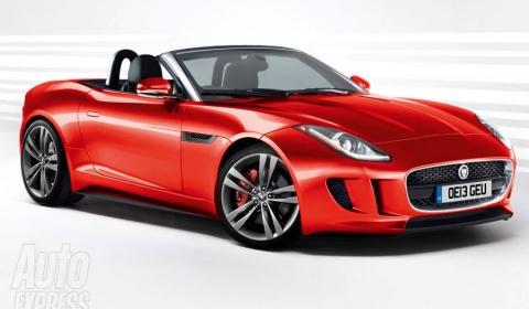 Hình ảnh mới nhất về Jaguar F-Type 2014