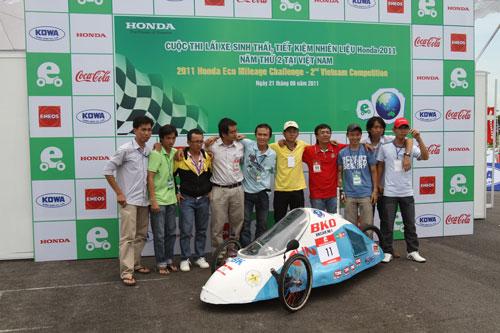 Honda Việt Nam tổ chức cuộc thi lái xe tiết kiệm nhiên liệu lần 3