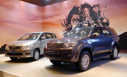 Toyota đạt doanh số bán 5 triệu xe dòng IMV