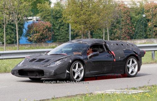 Ferrari Enzo thế hệ mới lộ diện rõ ràng hơn