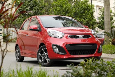 KIA Morning đứng top đầu xe con bán chạy nhất Việt Nam