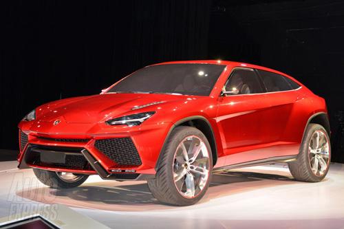 Lamborghini SUV Urus chính thức ra mắt