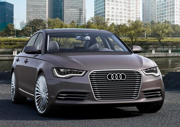 Audi A6 L e-Tron dành cho thị trường Trung Quốc