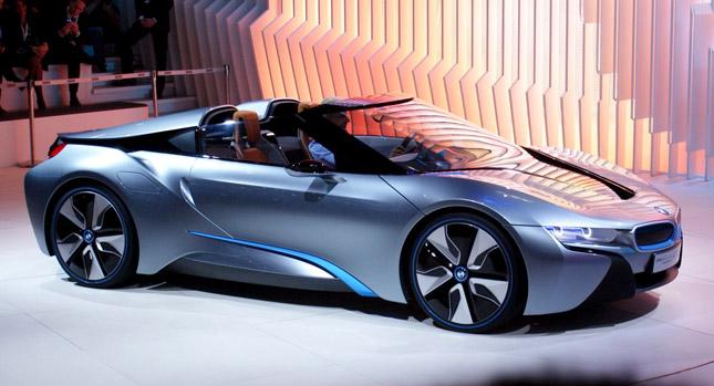 BMW i8 Spyder chính thức lộ diện