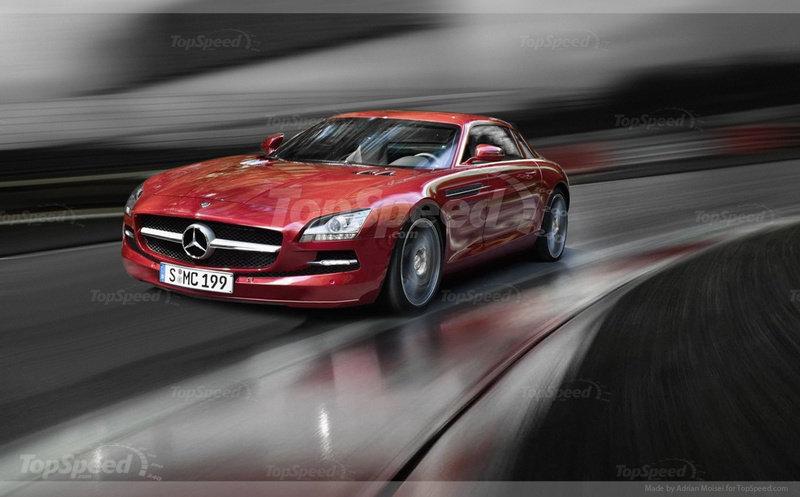 Mercedes SLC sẽ được ra mắt vào năm 2014
