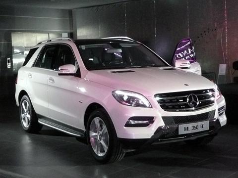 Mercedes-Benz ra mắt ML-Class 2012 có giá 3,44 tỷ đồng