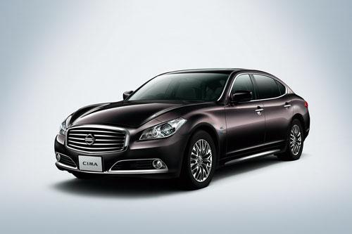 Nissan Cima trở lại thị trường Nhật Bản