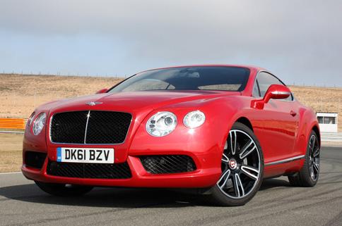 Bently Continental GT V8 tiết kiệm nhiên liệu