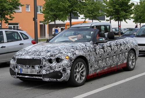 BMW để lộ hình ảnh 4 Series trên đường thử