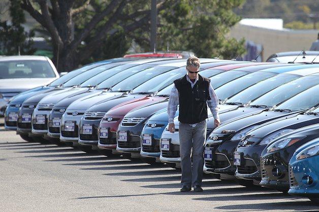 """Năm 2012: Doanh số bán xe của Mỹ sẽ """"bội thu"""""""
