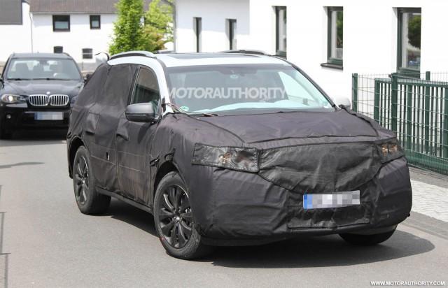 Acura MDX 2014 lộ diện trên đường thử